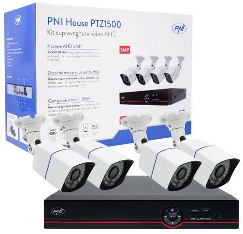 Kit supraveghere video PNI House PTZ1500